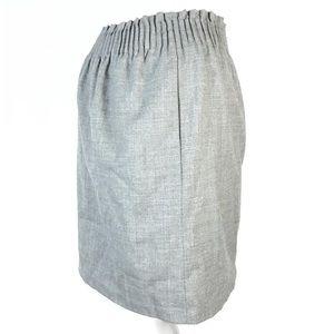 J.crew skirt wool blend